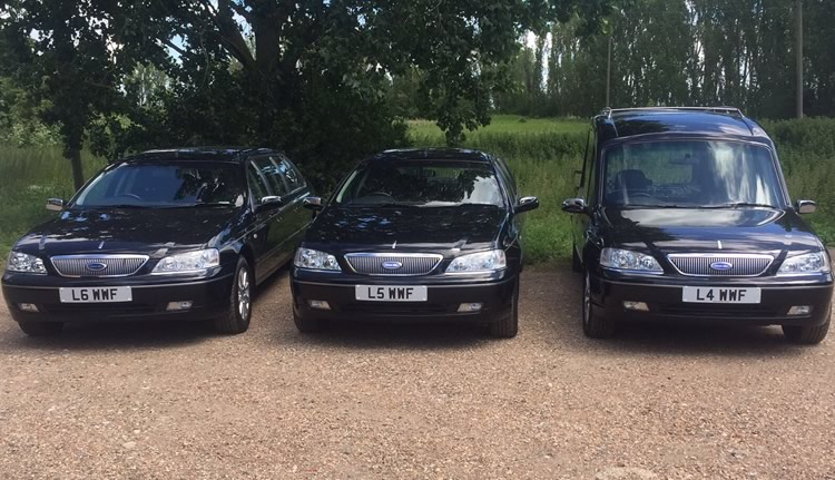 Whitmey funeral cars