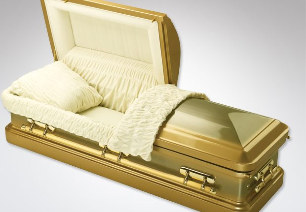 Roman Gold Coffin