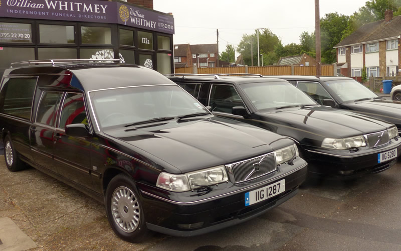 Whitmey Funeral Vehicles